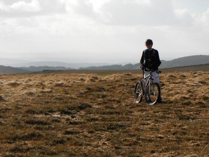 Dartmoor: North to South….in a day…on a bike